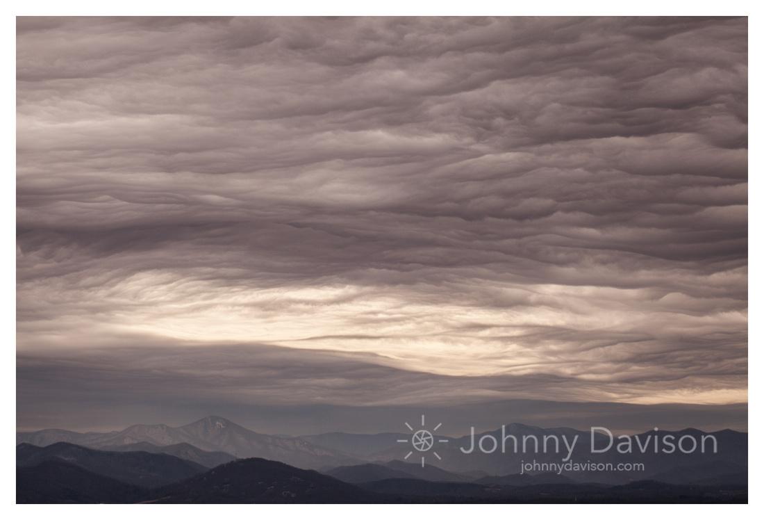 Mount Pisgah, Clouds, Asheville, NC