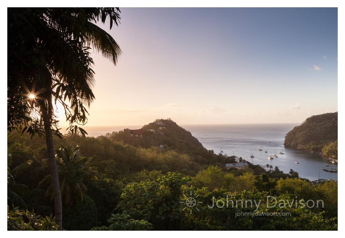 Marigot Bay, Evening Light, St. Lucia