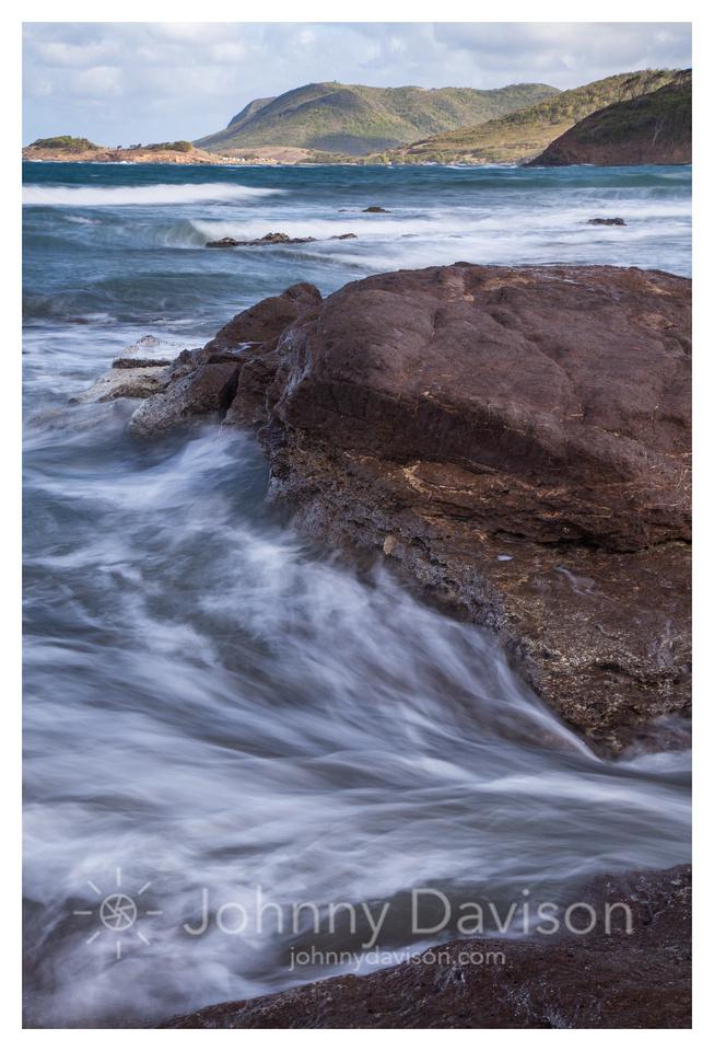 Tide, Northeastern Shore, Epouge Bay, St. Lucia