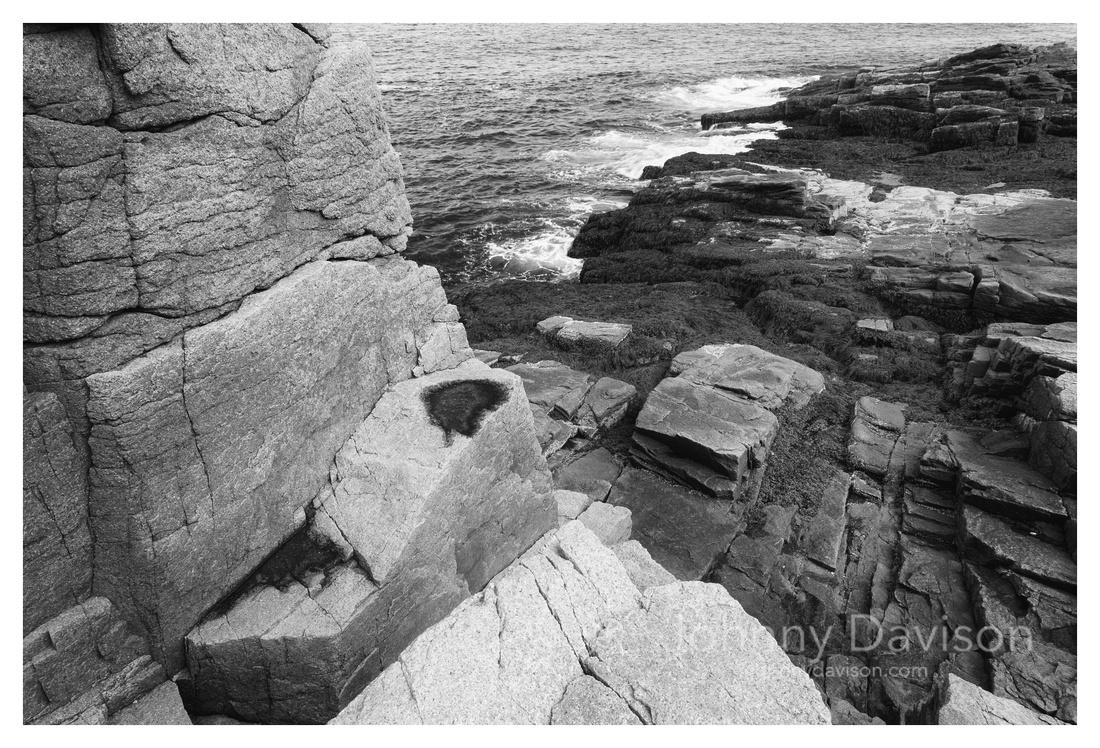 Puddle, Sea Wall, Thunder Hole, Acadia National Park, ME