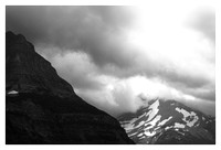 Mount Jackson, Clouds, Summer, Glacier National Park, MT