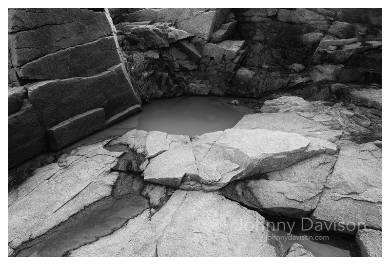 Rock, Puddle, Acadia National Park, ME