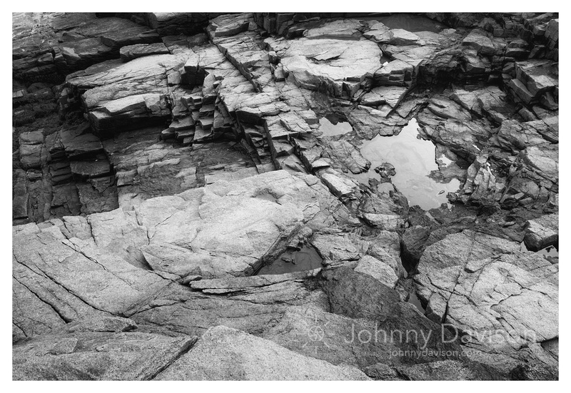 Puddle, Rock Bed, Acadia National Park, ME