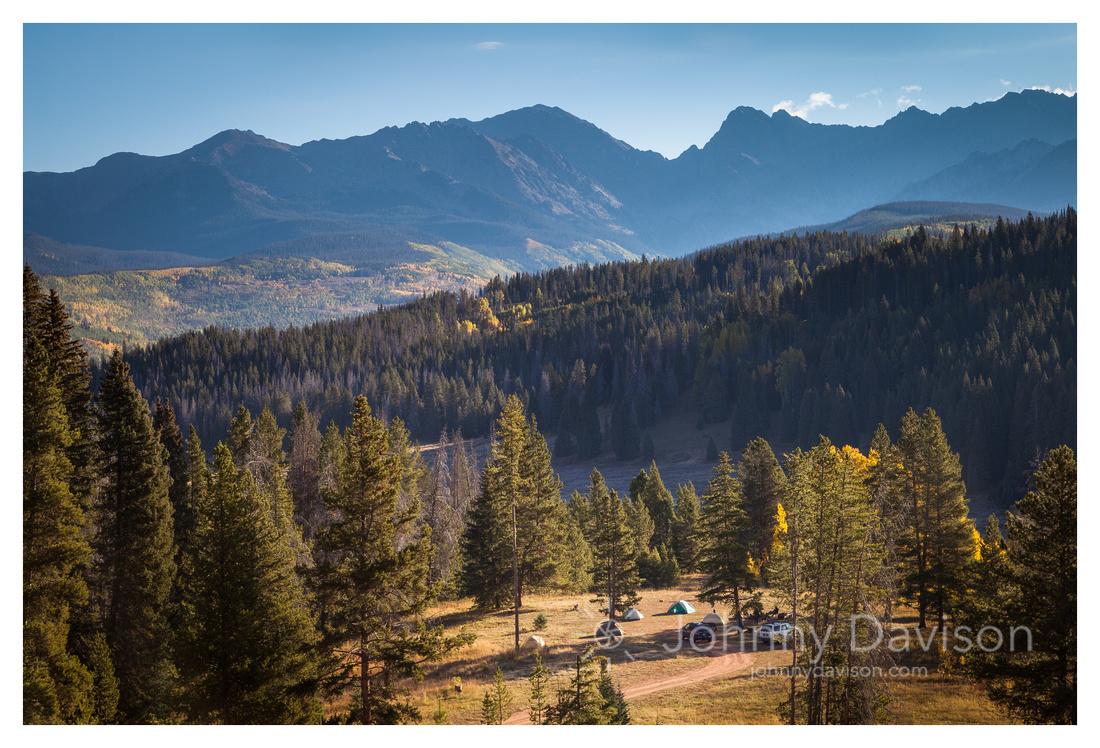 Campsite, Gore Range, White River National Forest, CO